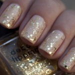 Manicure Mondays &#8211; Petal Pusher and Gold Sequins