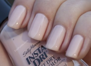 Sally Hansen Instant Dry Petal Pusher Light Pink Creme Nail Polish
