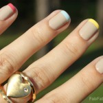 Manicure Mondays &#8211; Multi-Colored Pastel French Tips