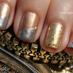 Manicure Mondays &#8211; 24k, White, &#038; Rose Mixed Metals