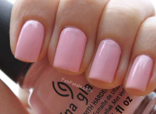 China Glaze Breast Cancer Awareness Go Go Pink