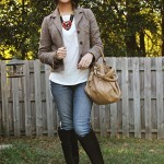 Fall Look &#8211; Beads, Tweed, and Riding Boots