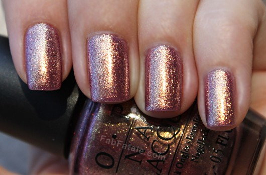 OPI Rally Pretty Pink Copper Glitter Nail Polish