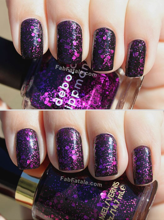 Deborah Lippmann Bad Romance Revlon Comparison Facets Of Fuchsia Look For Less