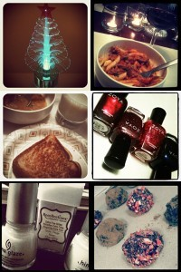 Grill Cheese Sandwich Soup Zoya Indigo Nova Astra Blair Glitter Polish Hot Chocolate Truffles USB LED Christmas Tree