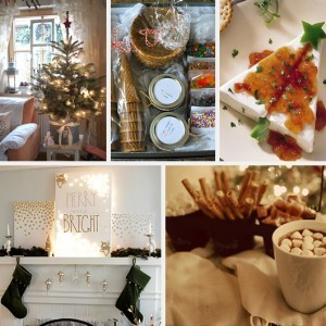 Potted Christmas Tree Ice Cream Kit Present Cream Cheese Pepper Jelly Appetizer Canvas Lights Hot Chocolate Bar Station