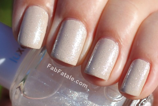 Essie LuxeEffects PurePearlfection Silver Shimmer Top Coat Nail Polish