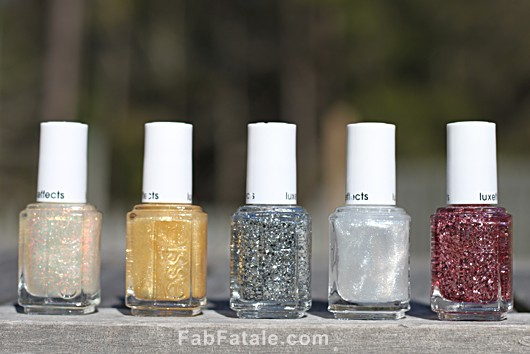 Essie LuxeEffects Swatches Review