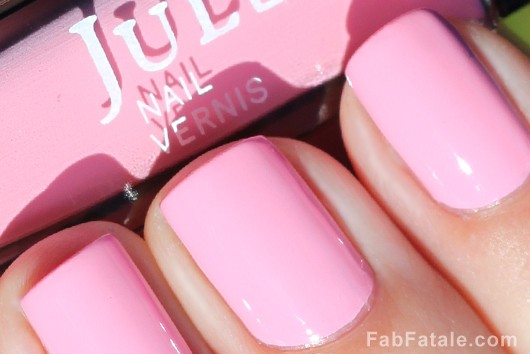 Julep Carrie Light Pink Creme Nail Polish