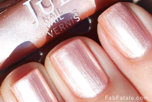 Julep Maya Light Pink Shimmer Metallic