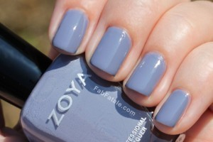 Zoya Caitlin Light Purple Creme Nail Polish