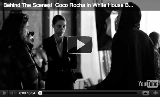 Coco Rocha White House Black Market Ad Commercial