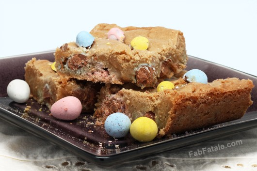 Easter Cadbury Mini-Egg Blondies Recipe