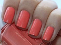 Essie Tart Deco Orange Peach Coral Nail Polish