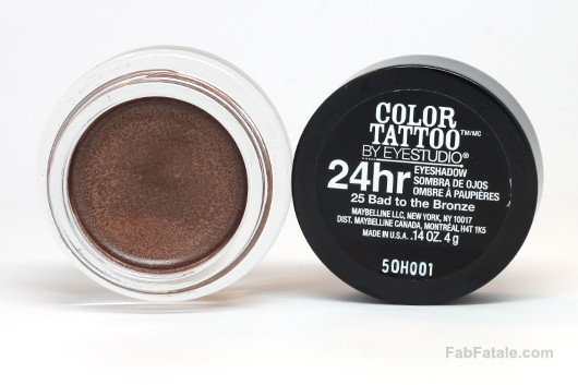 Maybelline Color Tattoo Creme Eyeshadow Swatches and Review