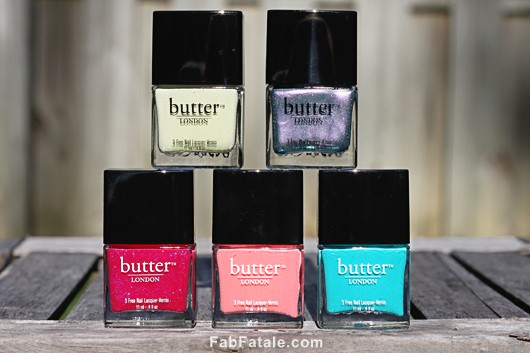 Butter London Spring Summer 2012 Collection Swatches Review