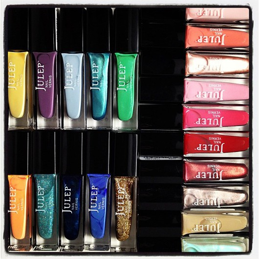 LOVING my rainbow selection of Julep nail polish. The May Julep Maven boxes