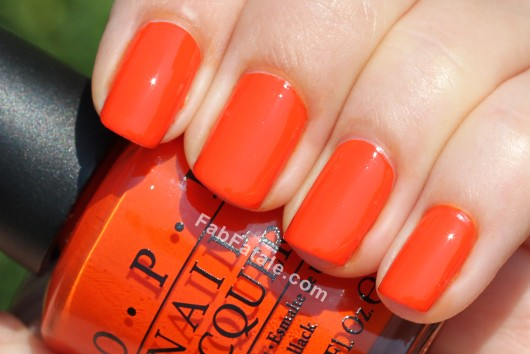 OPI Holland Spring 2012 Collection Swatches Review - A Roll In The Hague