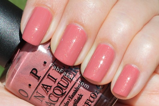OPI Holland Spring 2012 Collection Swatches Review - Gouda Gouda Two Shoes