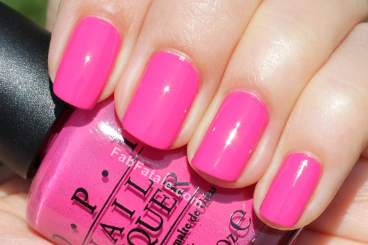 OPI Holland Spring 2012 Collection Swatches Review - Kiss Me On My Tulips