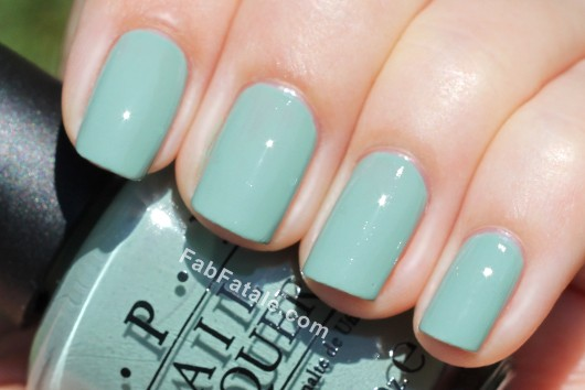 OPI Holland Spring 2012 Collection Swatches Review - Thanks A Windmillion