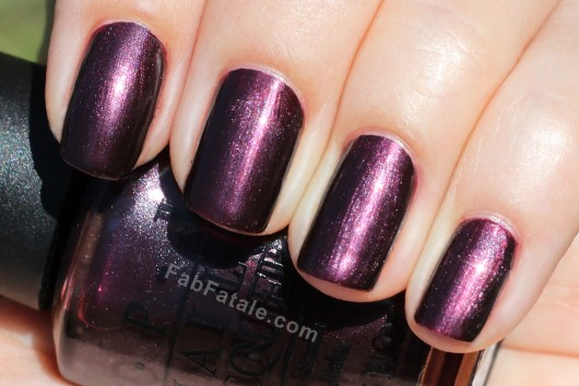 OPI Holland Spring 2012 Collection Swatches Review - Vampsterdam