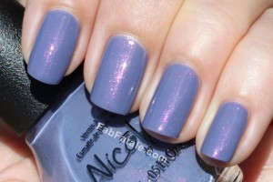 Kardashian Kolor - Back To Reality... TV Purple Pink Shimmer Nail Polish