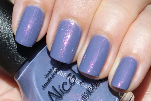 Nicole by OPI Kardashian Kolor - Back To Reality... TV Purple Pink Shimmer Nail Polish