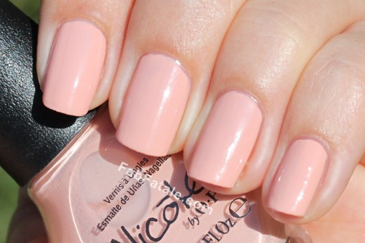 Nicole by OPI Kardashian Kolor - Paparazzi Don't Preach Pink Peach Beige Nude Creme Nail Polish