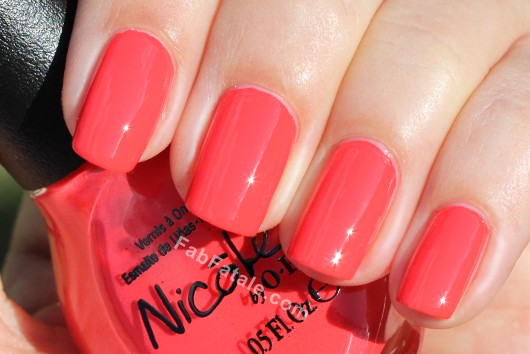 Nicole by OPI Kardashian Kolor - Strike A Pose Red Coral Creme Nail Polish