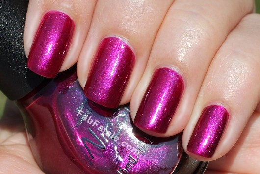 Nicole by OPI - Vio-Let&#039;s Talk About Red Pink Shimmer Nail Polish