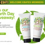 Origins &#8211; Earth Day Cash Back &#038; Free Moisturizer