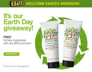 Origins Earth Day Giveaway