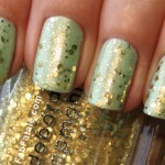 Manicure Mondays &#8211; Seafoam and Sequins