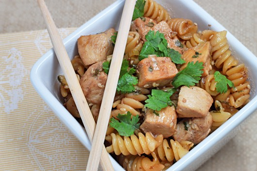 Sesame Ginger Chicken Pasta