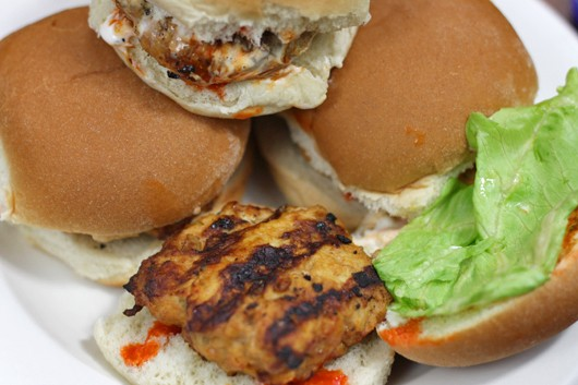 Buffalo Chicken Sliders - Fab Fatale