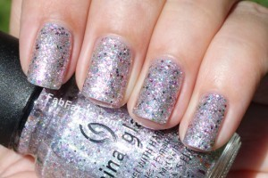 China Glaze Prismatic Collection Swatches Glitter Nail Polish Full Spectrum