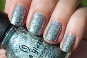 China Glaze Prismatic Collection Swatches Glitter Nail Polish Optical Illusion