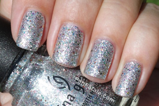 China Glaze Prismatic Collection Swatches Glitter Nail Polish Polarized