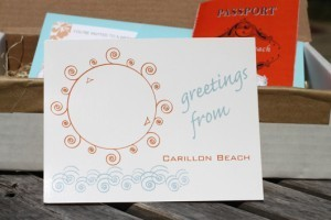 DIY RSVP Postcard - BeachWedding