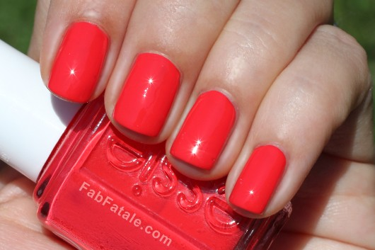 Essie Navigate Her Spring 2012 Swatches Olé Caliente Bright Pink Creme Nail Polish