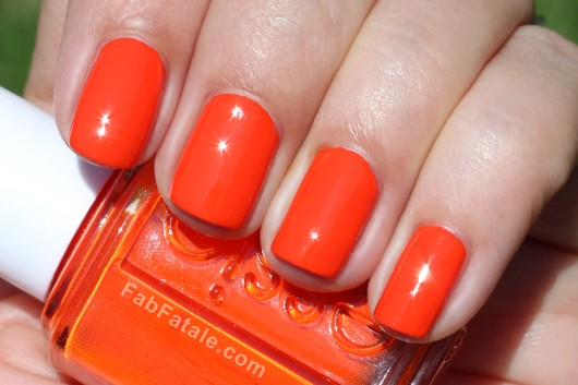 Essie Navigate Her Spring 2012 Swatches Orange, It's Obvious Creme Nail Polish