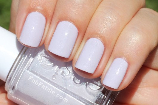 Essie Navigate Her Spring 2012 Swatches To Buy Or Not To Buy Light Purple Shimmer Nail Polish