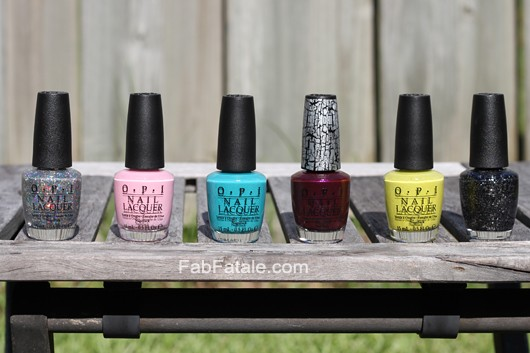 Nicki Minaj OPI Collection Swatches Nail Polish