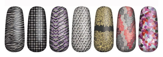 OPI Pure Lacquer Nail Appliques Press On Nail Strips Shimmers