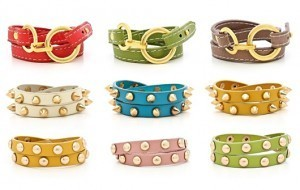 Vegan Leather Studded Wrap Bracelets Look For Less
