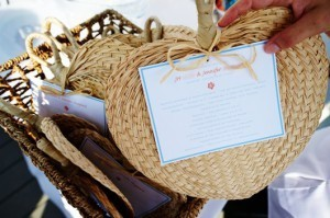 Beach Wedding Fan Programs