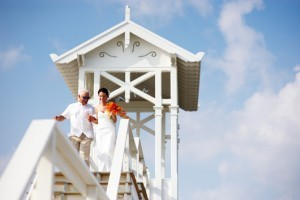 Beach Wedding Gazeebo Altar