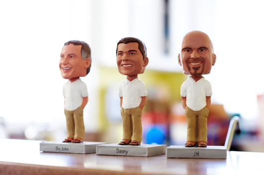 Beach Wedding Groomsmen Gifts Bobble Heads