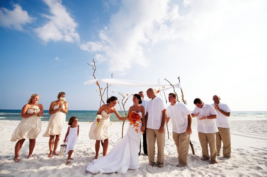 Beach Wedding Dress Party